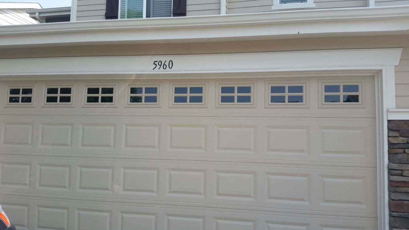 Raised Panel Garage Door Littleton