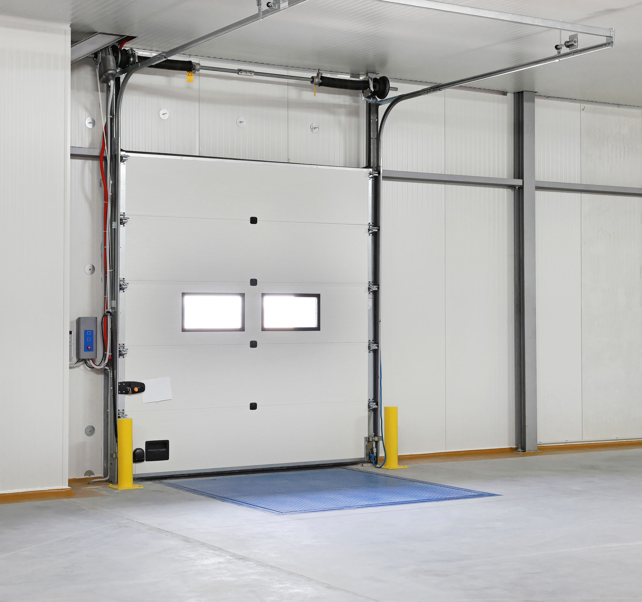 residential contemporary ii plain door doors tech commercial northwest therma garage